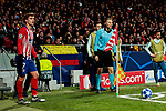 Atletico de Madrid's XXX and AS Monaco's XXX during UEFA Champions League match between Atletico de Madrid and AS Monaco at Wanda Metropolitano Stadium in Madrid, Spain. November 28, 2018. (ALTERPHOTOS/A. Perez Meca)