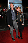 "WESTWOOD, CA. - November 30: Miguel Ferrer and wife Lori Weintraub arrive at the ""Up In The Air"" Los Angeles Premiere at Mann Village Theatre on November 30, 2009 in Westwood, California."