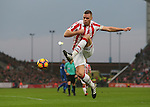 Ryan Shawcross of Stoke City in action during the English Premier League match at the Bet 365 Stadium, Stoke on Trent. Picture date: December 17th, 2016. Pic Simon Bellis/Sportimage
