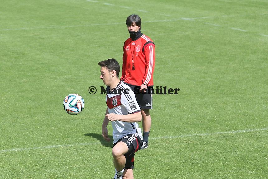 Mesut Özil - Training der Deutschen Nationalmannschaft  zur WM-Vorbereitung in St. Martin