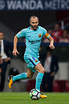 Andres Iniesta Lujan of FC Barcelona in action during the La Liga 2017-18 match between Atletico de Madrid and FC Barcelona at Wanda Metropolitano  on 14 October 2017 in Madrid, Spain. Photo by Diego Gonzalez / Power Sport Images