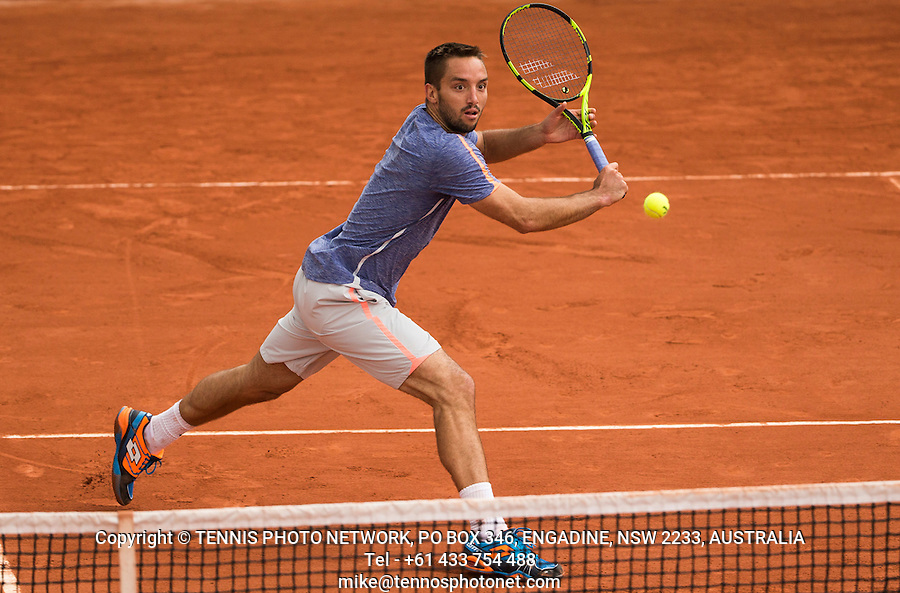 VIKTOR TROICKI (SRB)<br /> <br /> TENNIS - FRENCH OPEN - ROLAND GARROS - ATP - WTA - ITF - GRAND SLAM - CHAMPIONSHIPS - PARIS - FRANCE - 2016  <br /> <br /> <br /> &copy; TENNIS PHOTO NETWORK
