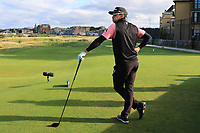 Rafa Cabrera Bello (ESP) on the 17th tee during Round 3 of the Alfred Dunhill Links Championship 2019 at St. Andrews Golf CLub, Fife, Scotland. 28/09/2019.<br /> Picture Thos Caffrey / Golffile.ie<br /> <br /> All photo usage must carry mandatory copyright credit (© Golffile | Thos Caffrey)