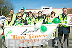 Members of the Listowel Tidy Towns in the St Patrick's Day parade in Listowel on Tuesday.