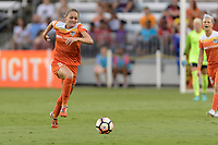 Houston, TX - Saturday July 15, 2017: Cami Privett during a regular season National Women's Soccer League (NWSL) match between the Houston Dash and the Washington Spirit at BBVA Compass Stadium.