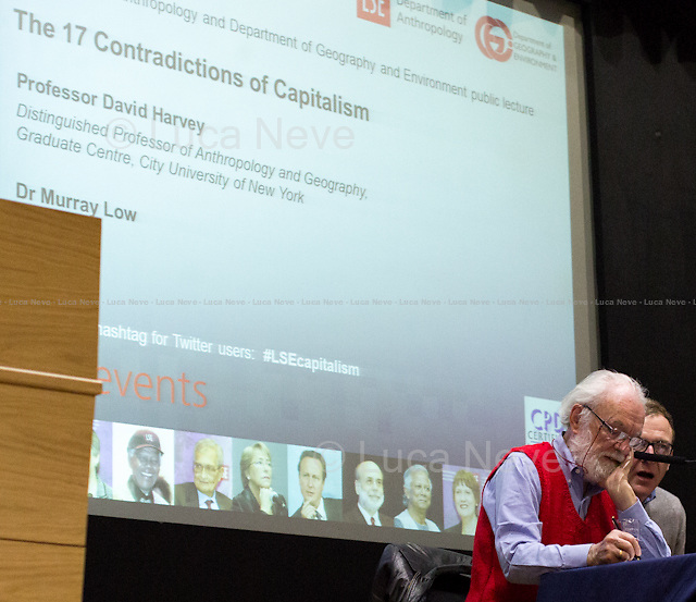 (From L to R) David Harvey &amp; Murray Low.<br />