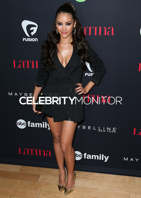 WEST HOLLYWOOD, CA, USA - NOVEMBER 13: Melanie Iglesias arrives at the Latina Magazine's '30 Under 30' Party held at SkyBar at the Mondrian Los Angeles on November 13, 2014 in West Hollywood, California, United States. (Photo by Xavier Collin/Celebrity Monitor)
