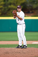 Nick Petree (10) of the Missouri State Bears during a game vs. the Western Illinois Leathernecks at Hammons Field in Springfield, Missouri;  March 20, 2011.  Photo By David Welker/Four Seam Images