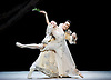 National Ballet of China <br /> The Peony Pavillion <br /> at Sadler's Wells, London, Great Britain <br /> press photocall / rehearsal <br /> 29th November 2016 <br /> <br /> Zhu Yan as Du Liniang <br /> <br /> Ma Xiaodong as Liu Mengmei <br /> <br /> <br /> <br /> Photograph by Elliott Franks <br /> Image licensed to Elliott Franks Photography Services