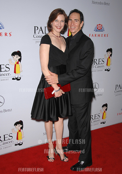Desperate Housewives star Brenda Strong & husband Tom Henri at a fund-raising gala to benefit Padres Contra El Cåncer (parents against cancer) at The Lot, Hollywood..October 19, 2007  Los Angeles, CA.Picture: Paul Smith / Featureflash