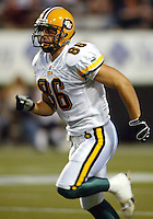 Scott Robinson Edmonton Eskimos 2003. Photo copyright Scott Grant.