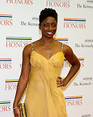Montego Glover arrives for the formal Artist's Dinner honoring the recipients of the 2012 Kennedy Center Honors hosted by United States Secretary of State Hillary Rodham Clinton at the U.S. Department of State in Washington, D.C. on Saturday, December 1, 2012. The 2012 honorees are Buddy Guy, actor Dustin Hoffman, late-night host David Letterman, dancer Natalia Makarova, and the British rock band Led Zeppelin (Robert Plant, Jimmy Page, and John Paul Jones)..Credit: Ron Sachs / CNP