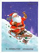 GIORDANO, CHRISTMAS SANTA, SNOWMAN, WEIHNACHTSMÄNNER, SCHNEEMÄNNER, PAPÁ NOEL, MUÑECOS DE NIEVE, paintings+++++,USGI2292,#X#