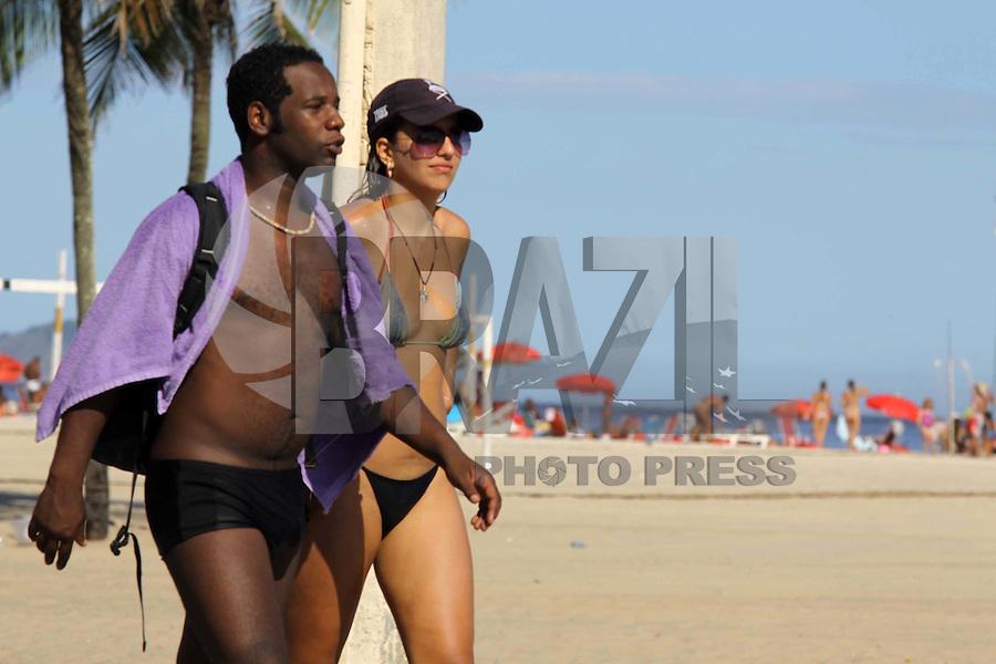 RIO DE  JANEIRO,03 DE  JANEIRO DE 2012- Movientação  na praia de Copacabana-RJ,Copacabana.<br /> Foto: Guto Maia / News Free