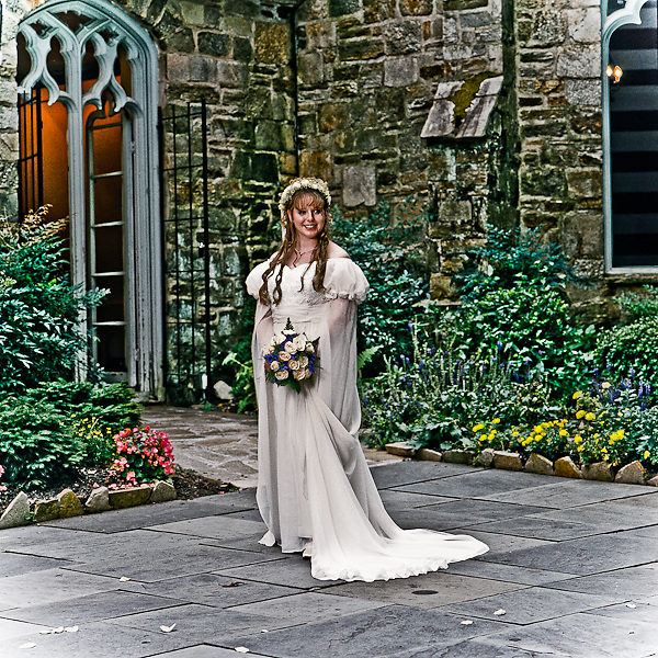 Renaissance themed Wedding at the Cloisters Castle in Baltimore, Maryland.  Photography by Professional Image Photography.