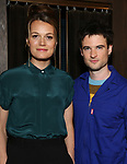 "Director Carrie Cracknell and Tom Sturridge during ""Sea Wall/A Life"" Cast Photo Call at Dream Hotel on June 5, 2019 in New York City."