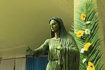 Israel, Shephelah, Icon of Our Lady of Palestine at Deir Rafat Monastery