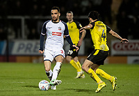 Bolton Wanderers' Kean Bryan competing with Burton Albion's Ryan Edwards (right) <br /> <br /> Photographer Andrew Kearns/CameraSport<br /> <br /> The Premier League - Leicester City v Aston Villa - Monday 9th March 2020 - King Power Stadium - Leicester<br /> <br /> World Copyright © 2020 CameraSport. All rights reserved. 43 Linden Ave. Countesthorpe. Leicester. England. LE8 5PG - Tel: +44 (0) 116 277 4147 - admin@camerasport.com - www.camerasport.com