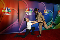 LOS ANGELES - FEB 20:  Derek Hough, Ne-Yo at the NBC's Los Angeles Mid-Season Press Junket at the NBC Universal Lot on February 20, 2019 in Universal City, CA