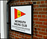BNPS.co.uk (01202 558833)<br /> Pic: GrahamHunt/BNPS.<br /> <br /> The Yacht was stored at Weymouth Sailing Club.<br /> <br /> A tragic yachtsman was crushed to death under his own boat as he painted its hull, an inquest heard.<br /> <br /> Company director Kevin Keeler, 56, was working beneath the 29ft sailing yacht at a boat yard when a metal frame support it was on gave way.<br /> <br /> The half-ton vessel toppled onto the father-of-five who suffered devastating and fatal crush injuries including multiple broken ribs, sternum and spine.