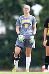 01 September 2013: Kennesaw State's Olivia Sturdivant. The University of North Carolina Tar Heels hosted the Kennesaw State University Owls at Fetzer Field in Chapel Hill, NC in a 2013 NCAA Division I Women's Soccer match. UNC won the game 3-0.