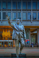 Frank Rizzo Mayor 1972 to 1980, Penn Center is the heart of Philadelphia's Central Business District, Philadelphia PA; large city; Commonwealth of Pennsylvania;