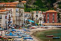 Italien, Kampanien, Sorrento: Marina grande | Italy, Campania, Sorrento: Marina grande