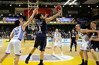 ZWOLLE - Basketbal, Landstede - Donar,  Dutch Basketball League, seizoen 2017-2018, 20-01-2018,  Donar speler Sean Cunningham op weg naar score /z10 is kansloos