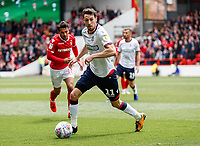 Bolton Wanderers' Will Buckley <br /> <br /> Photographer Andrew Kearns/CameraSport<br /> <br /> The EFL Sky Bet Championship - Nottingham Forest v Bolton Wanderers - Sunday 5th May 2019 - The City Ground - Nottingham<br /> <br /> World Copyright © 2019 CameraSport. All rights reserved. 43 Linden Ave. Countesthorpe. Leicester. England. LE8 5PG - Tel: +44 (0) 116 277 4147 - admin@camerasport.com - www.camerasport.com