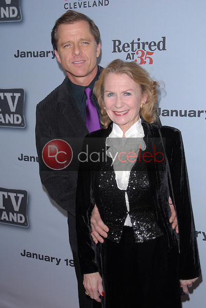 """Maxwell Caulfield and Juliet Mills<br /> at the """"Hot In Cleveland""""/""""Retired at 35"""" Premiere Party, Sunset Tower, West Hollywood, CA. 01-10-11<br /> David Edwards/DailyCeleb.com 818-249-4998"""