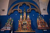 Europe/Voïvodie de Petite-Pologne/Cracovie:  Musée Historique de Cracovie: Exposition des crèches de Cracovie