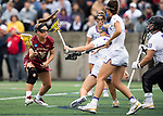 STONY BROOK, NY - MAY 27: Cara Urbank #26 of the Boston College Eagles during the Division I Women's Lacrosse Championship held at Kenneth P. LaValle Stadium on May 27, 2018 in Stony Brook, New York. (Photo by Ben Solomon/NCAA Photos via Getty Images)