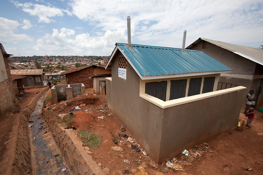 """For WATERAID (UK)<br /> <br /> Sanitation """"implemented by AEE, supported by WaterAid in march 2010,  in Kifumbira, Kawempe Division, Kampala, Uganda."""