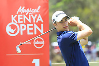 Guido Migliozzi (ITA) during the third round of the Magical Kenya Open presented by ABSA, played at Karen Country Club, Nairobi, Kenya. 16/03/2019<br /> Picture: Golffile | Phil Inglis<br /> <br /> <br /> All photo usage must carry mandatory copyright credit (&copy; Golffile | Phil Inglis)