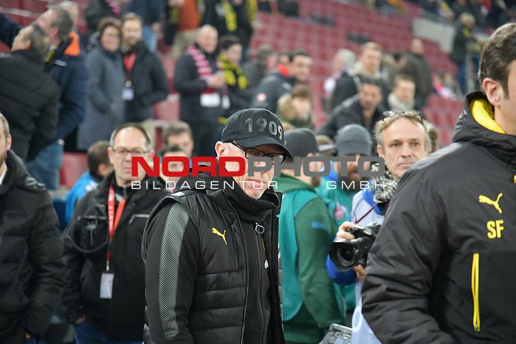 02.02.2018, RheinEnergieStadion, Koeln, GER, 1.FBL., 1. FC K&ouml;ln vs. Borussia Dortmund<br /> <br /> im Bild / picture shows: <br /> Trainer / Headcoach Peter St&ouml;ger / Stoeger (Borussia Dortmund), <br /> <br /> <br /> Foto &copy; nordphoto / Meuter