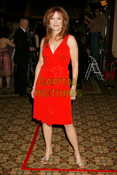 MARY McDONNELL.59th Annual DGA Awards held at the Hyatt Regency Century Plaza Hotel, Century City, California, USA, .03 February 2007..full length red dress.CAP/ADM/RE.©Russ Elliot/AdMedia/Capital Pictures.