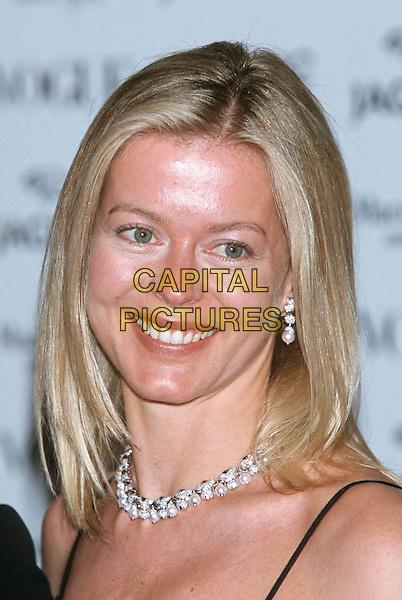 LADY HELEN TAYLOR..Ref: 10899..pearl necklace, headshot, portrait..www.capitalpictures.com..sales@capitalpictures.com..©Capital Pictures