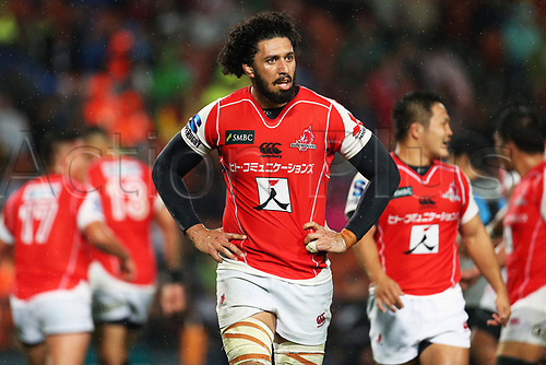 April 29th 2017, FMG Stadium Waikato, Hamilton, New Zealand; Super Rugby; Chiefs versus Sunwolves;  Sunwolves lock Sam Wykes during the Super Rugby rugby match