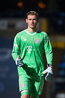 Goalkeeper Leo Weinkauf of Bayern Munich II during the Premier League International Cup match between Reading U23 and Bayern Munich II at the Adams Park, Wycombe, England on 8 December 2017. Photo by Andy Rowland.
