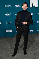 "LOS ANGELES - NOV 5:  Luke Kleintank at the ""Midway"" Premiere at the Village Theater on November 5, 2019 in Westwood, CA"