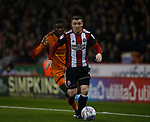John Fleck of Sheffield Utd  during the Championship match at the Bramall Lane Stadium, Sheffield. Picture date 27th September 2017. Picture credit should read: Simon Bellis/Sportimage