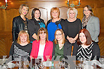 Joint birthday dinner in Leens Hotel, Abbeyfeale on Saturday night.  Pictured here L-R back row: Aoife Cahill of Abbeyfeale, Chris O'Leary of Brosna, Noelle Brodrick of Abbeyfeale, Jo Cook of Abbeyfeale and Bernice Murphy of Rockchapel.  Front Row L-R: Claire O'Connor of Kilmorna, Margaret Ahern of Athea who was celebrating her birthday, Anna-Marie Curtin of Knocknagoshel who was also celebrating her birthday and Sinead O'Mahony of Abbeyfeale.