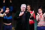 "Harvey Fierstein during the Broadway Opening Night Curtain Call for ""Torch Song"" at the Hayes Theater on November 1, 2018 in New York City."