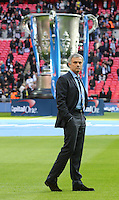 Chelsea manager Jose Mourinho alone with his thoughts pre gameLeague Cup Final - Chelsea vs Tottenham Hotspur - Wembley Stadium - England - 1st March 2015 <br /> Foto BPI/Imago/Insidefoto  <br /> ITALY ONLY