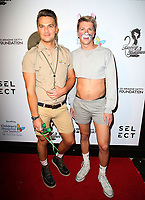 "29 October 2017 - West Hollywood, California - Adam Westcott, Guest. Gigi Gorgeous Hosts Haunted ""Carn-Evil for Good"" Halloween Bash Benefiting Transyouth. Photo Credit: F. Sadou/AdMedia"
