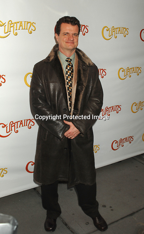 "Michael Cumptsy..arriving at The Broadway Opening of ""Curtains"" on      March 22, 2007 at The Hirschfeld Theatre in New York...Robin Platzer, Twin Images"