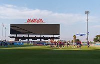 San Jose, CA - September 3, 2018:  The USWNT trains before their international friendly against Chile at Avaya Stadium.