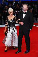 VENICE, ITALY - SEPTEMBER 03: Helen Mirren and Donald Sutherland attend 'The Leisure Seeker (Ella & John)' Red Carpet during 74nd Venice Film Festival at Palazzo Del Cinema on September 3, 2017 in Venice, Italy. (Mark Cape/insidefoto)