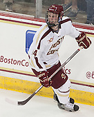 Adam Gilmour (BC - 14) - The Boston College Eagles defeated the visiting St. Francis Xavier University X-Men 8-2 in an exhibition game on Sunday, October 6, 2013, at Kelley Rink in Conte Forum in Chestnut Hill, Massachusetts.