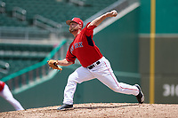 GCL Red Sox relief pitcher Logan Browning (60) delivers a pitch during a game against the GCL Rays on August 1, 2018 at JetBlue Park in Fort Myers, Florida.  GCL Red Sox defeated GCL Rays 5-1 in a rain shortened game.  (Mike Janes/Four Seam Images)